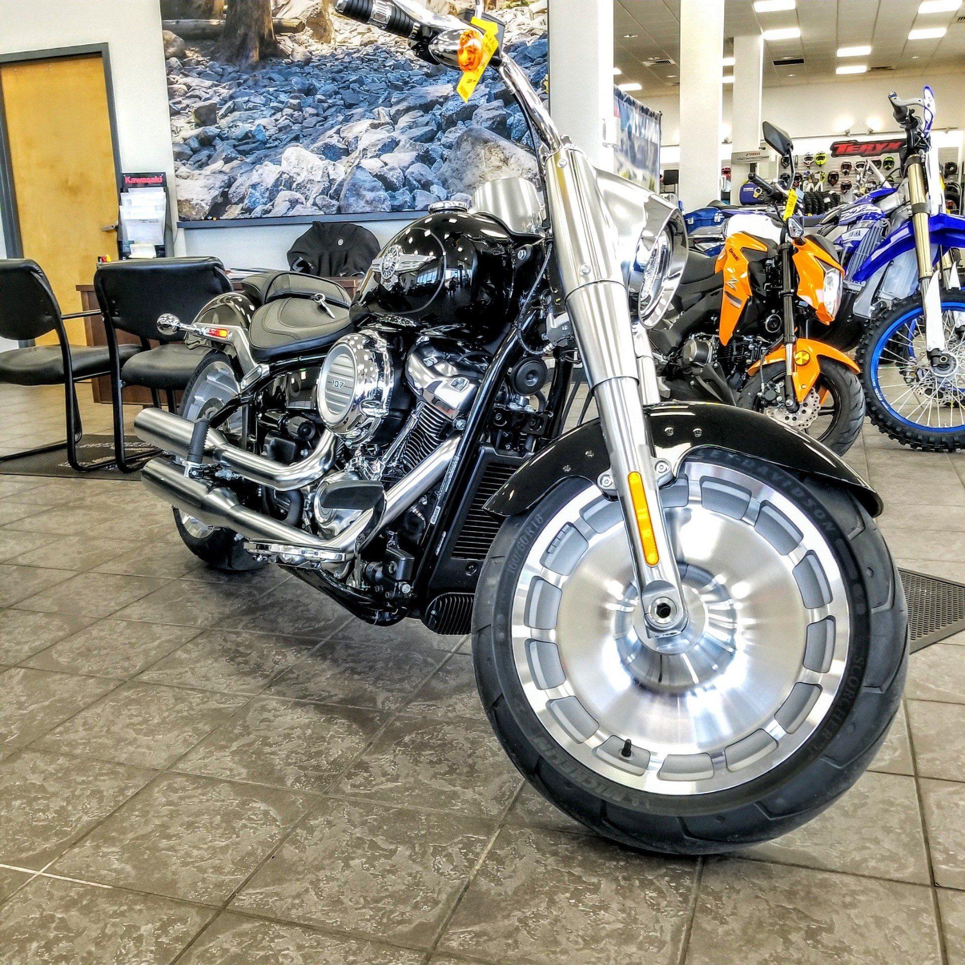 2019 Harley-Davidson Fat Boy® 107 in Hickory, North Carolina