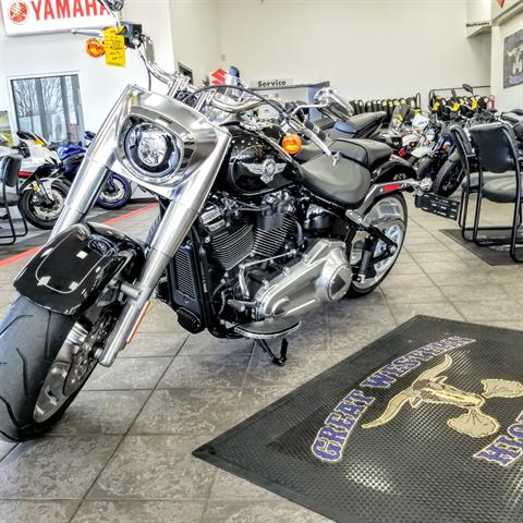 2019 Harley-Davidson Fat Boy® 107 in Hickory, North Carolina
