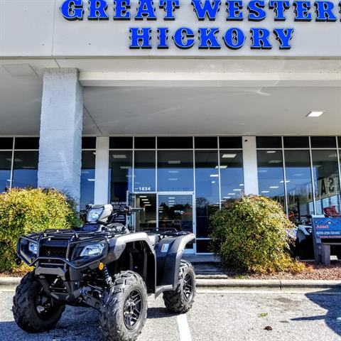 2019 Honda FourTrax Foreman Rubicon 4x4 Automatic DCT EPS Deluxe in Hickory, North Carolina