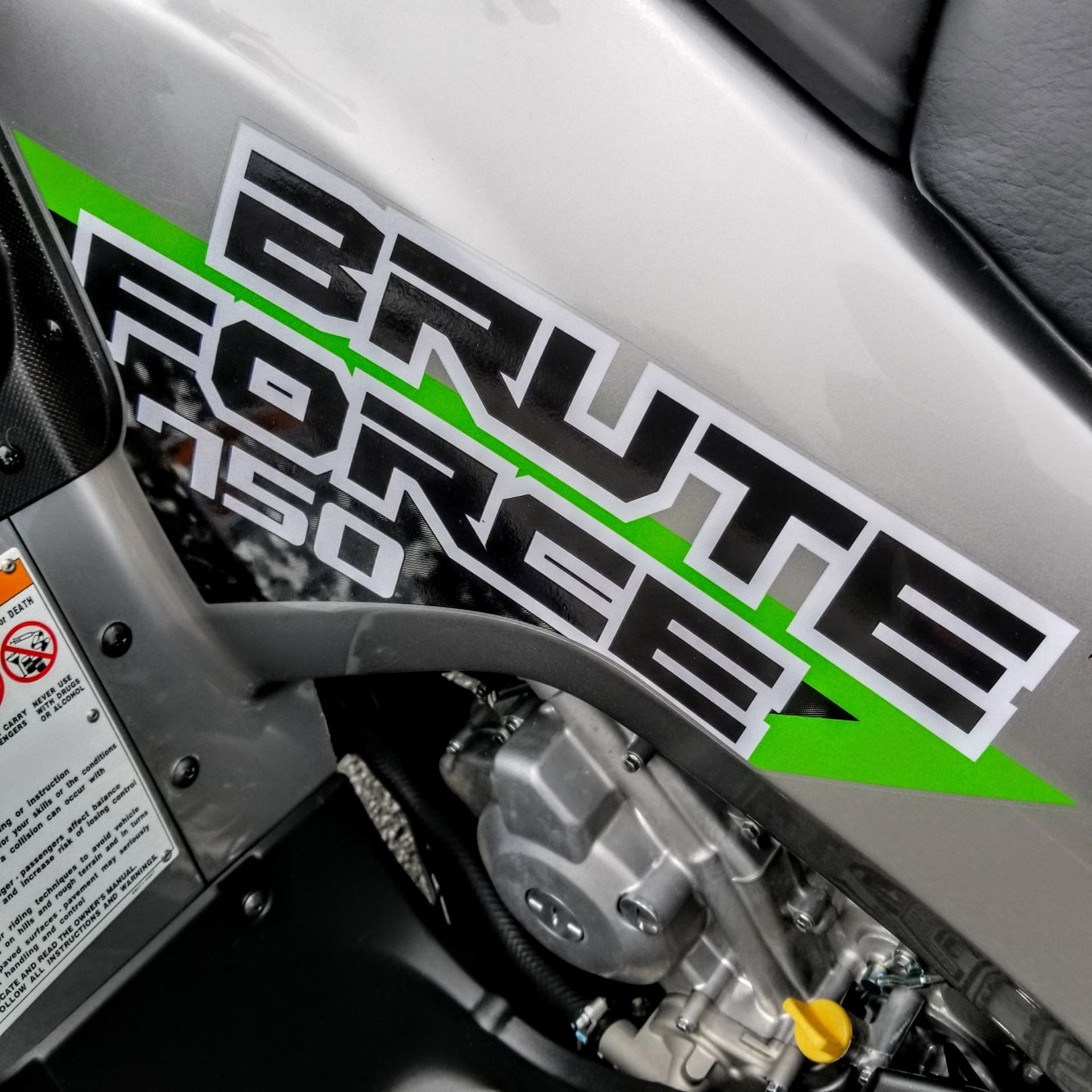 2019 Kawasaki Brute Force 750 4x4i EPS in Hickory, North Carolina
