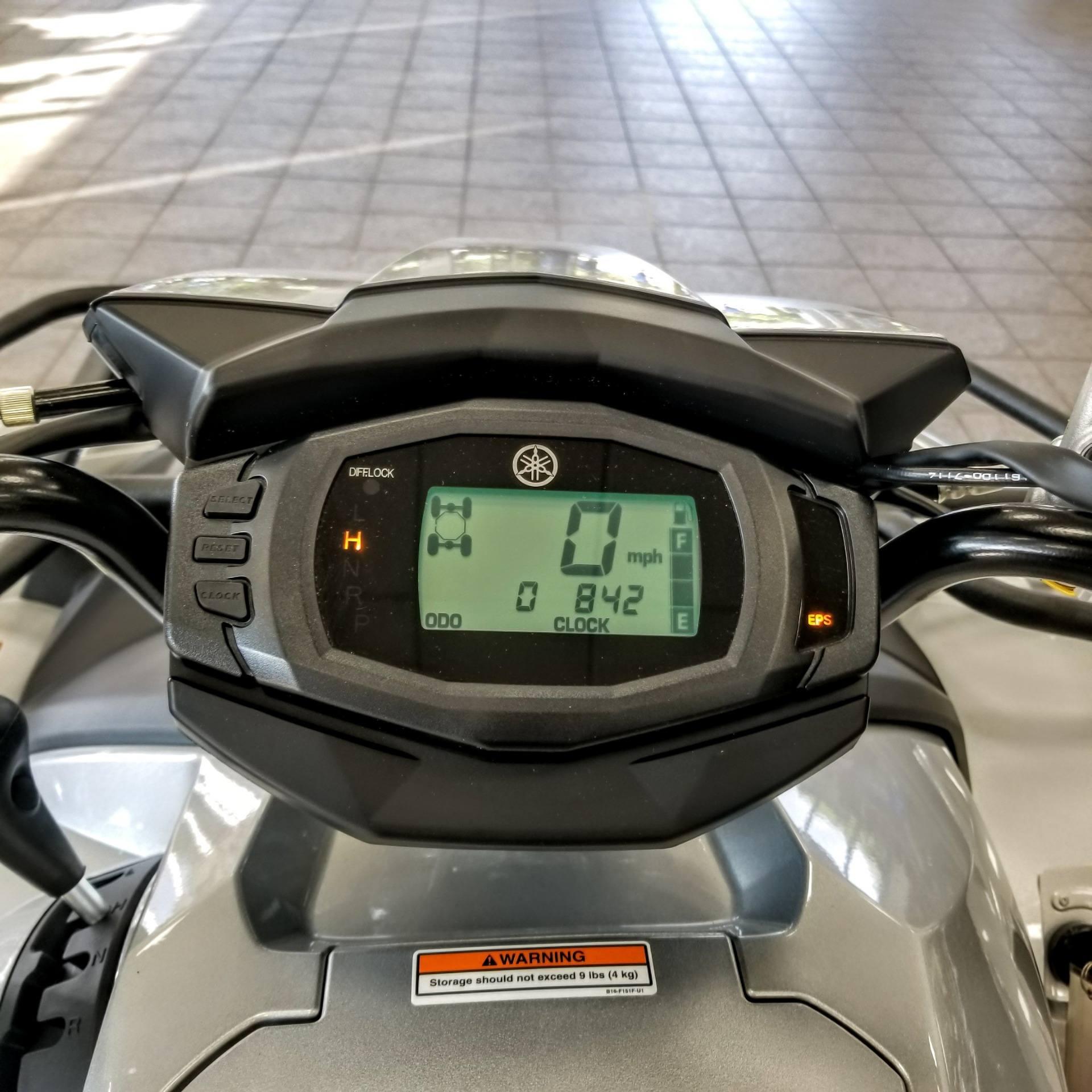 2018 Yamaha Kodiak 700 EPS SE 10
