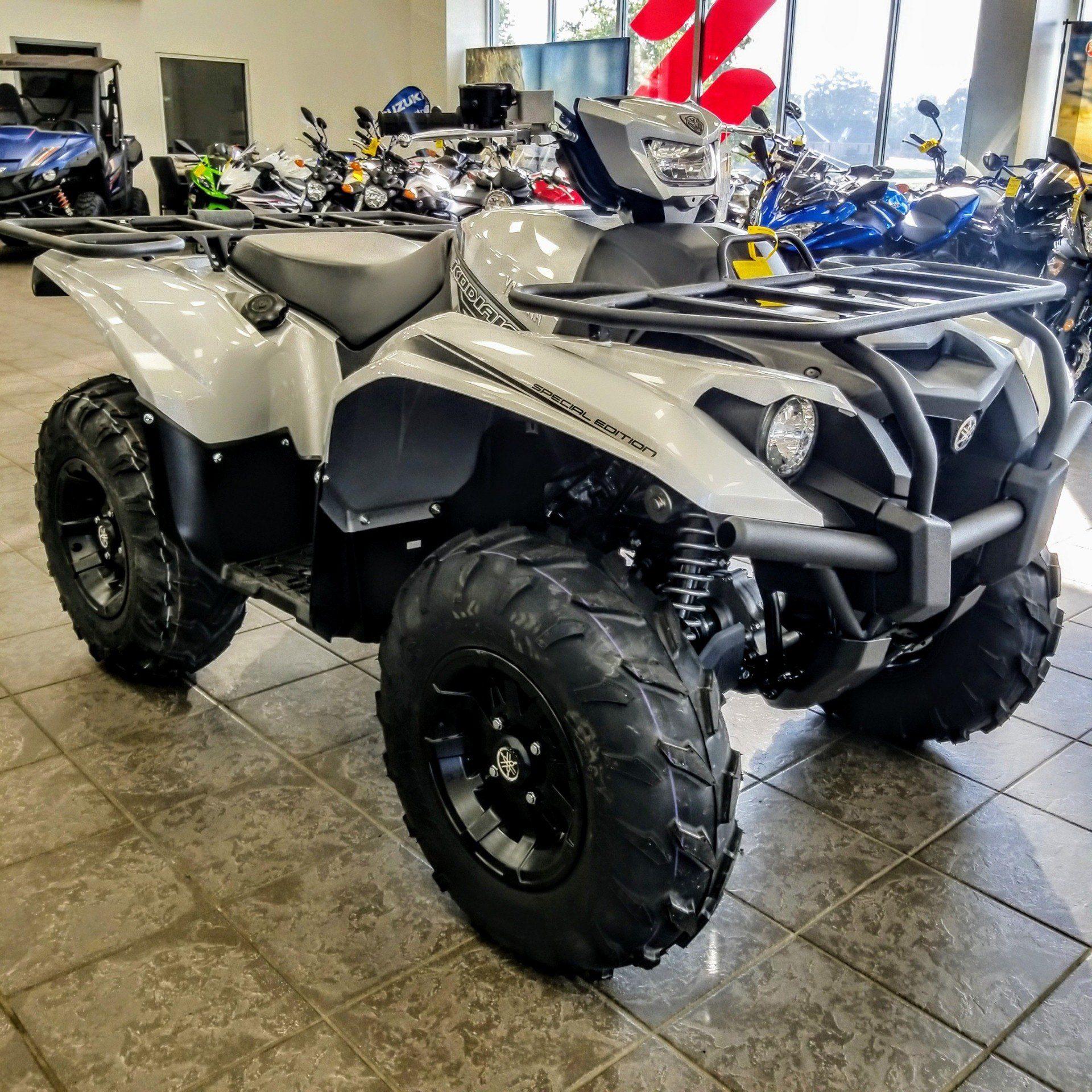 2018 Yamaha Kodiak 700 EPS SE 4