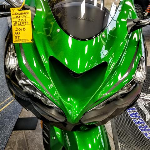 2018 Kawasaki Ninja ZX-14R ABS SE in Hickory, North Carolina