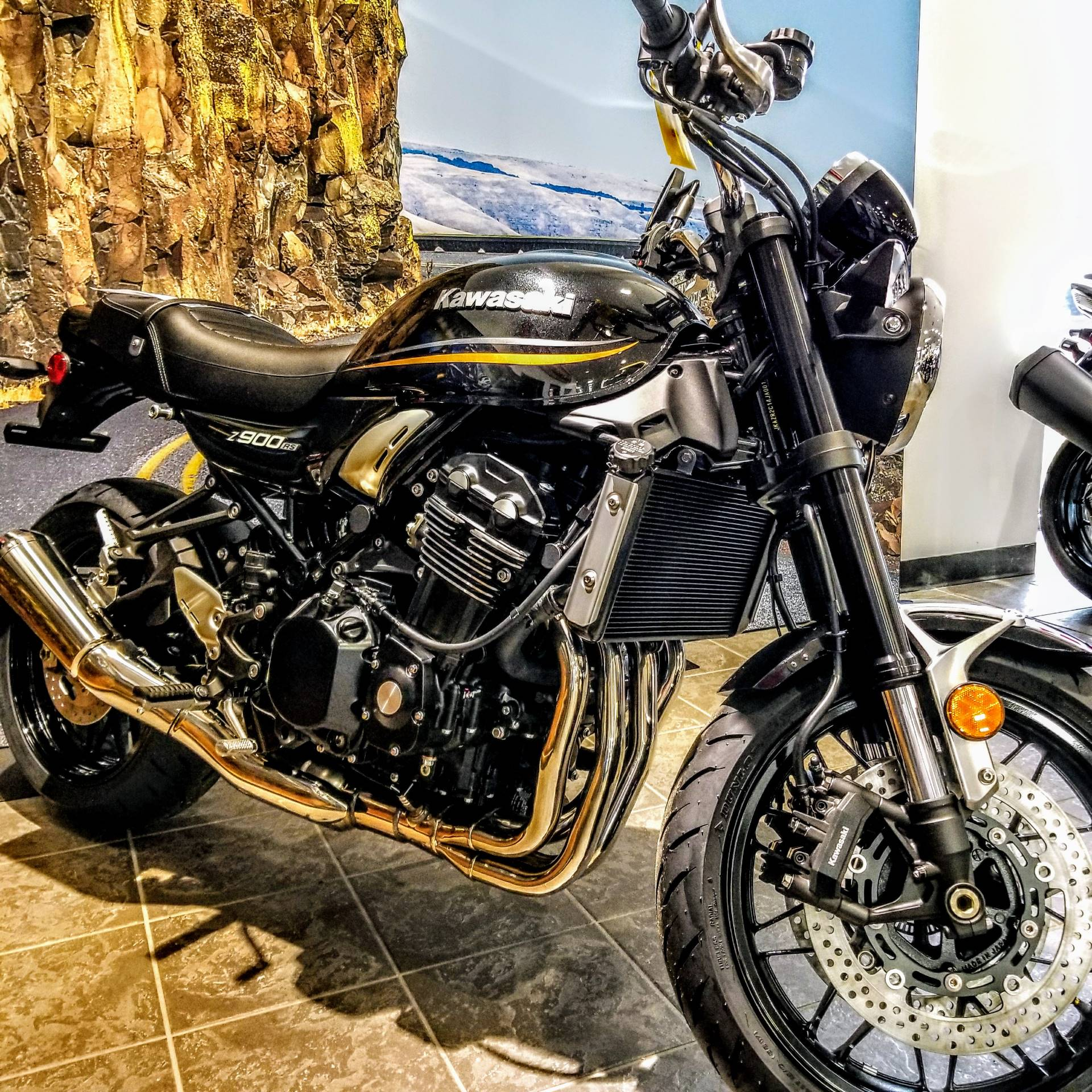 New 2018 Kawasaki Z900RS Motorcycles in Hickory, NC | Stock Number ...