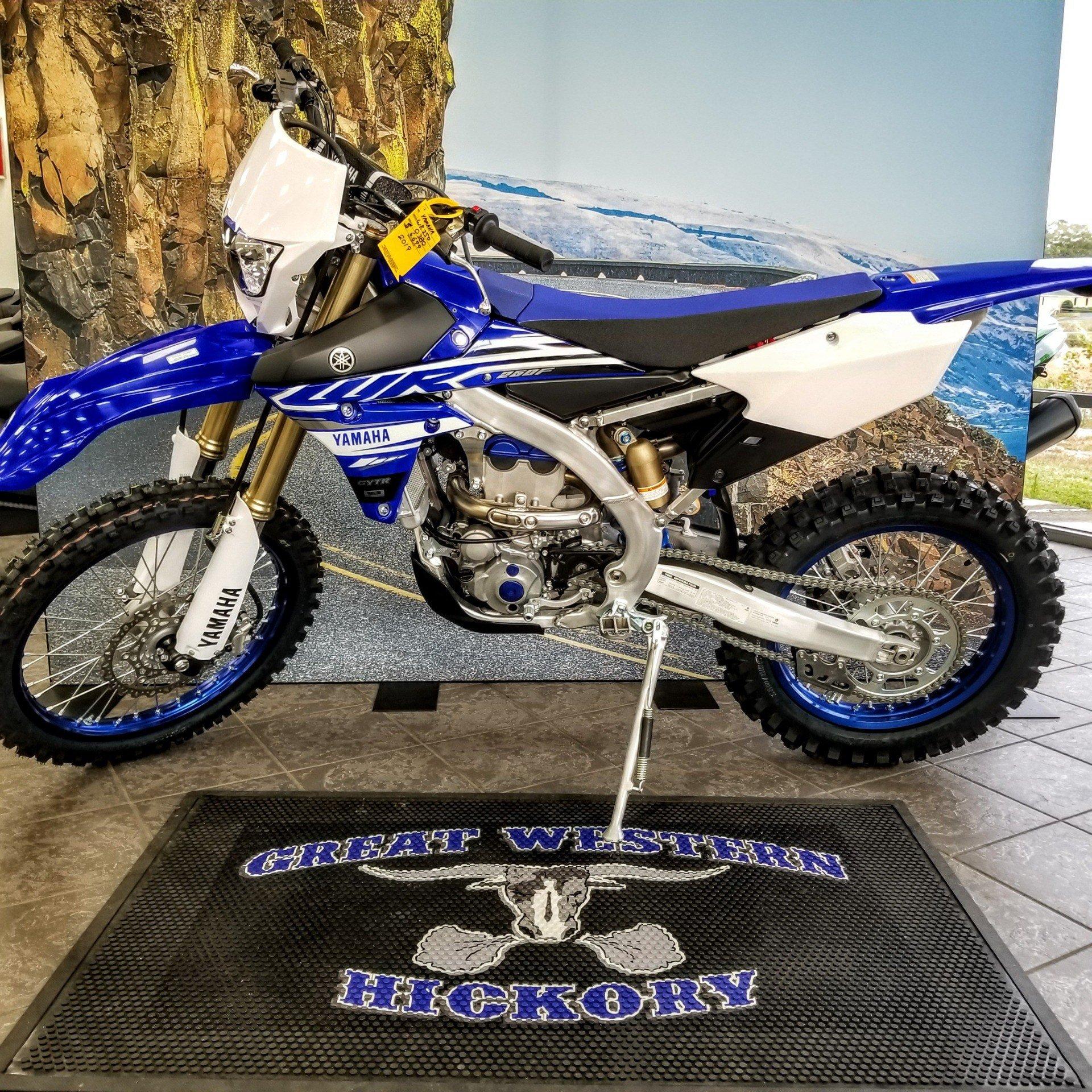 2019 Yamaha WR250F in Hickory, North Carolina