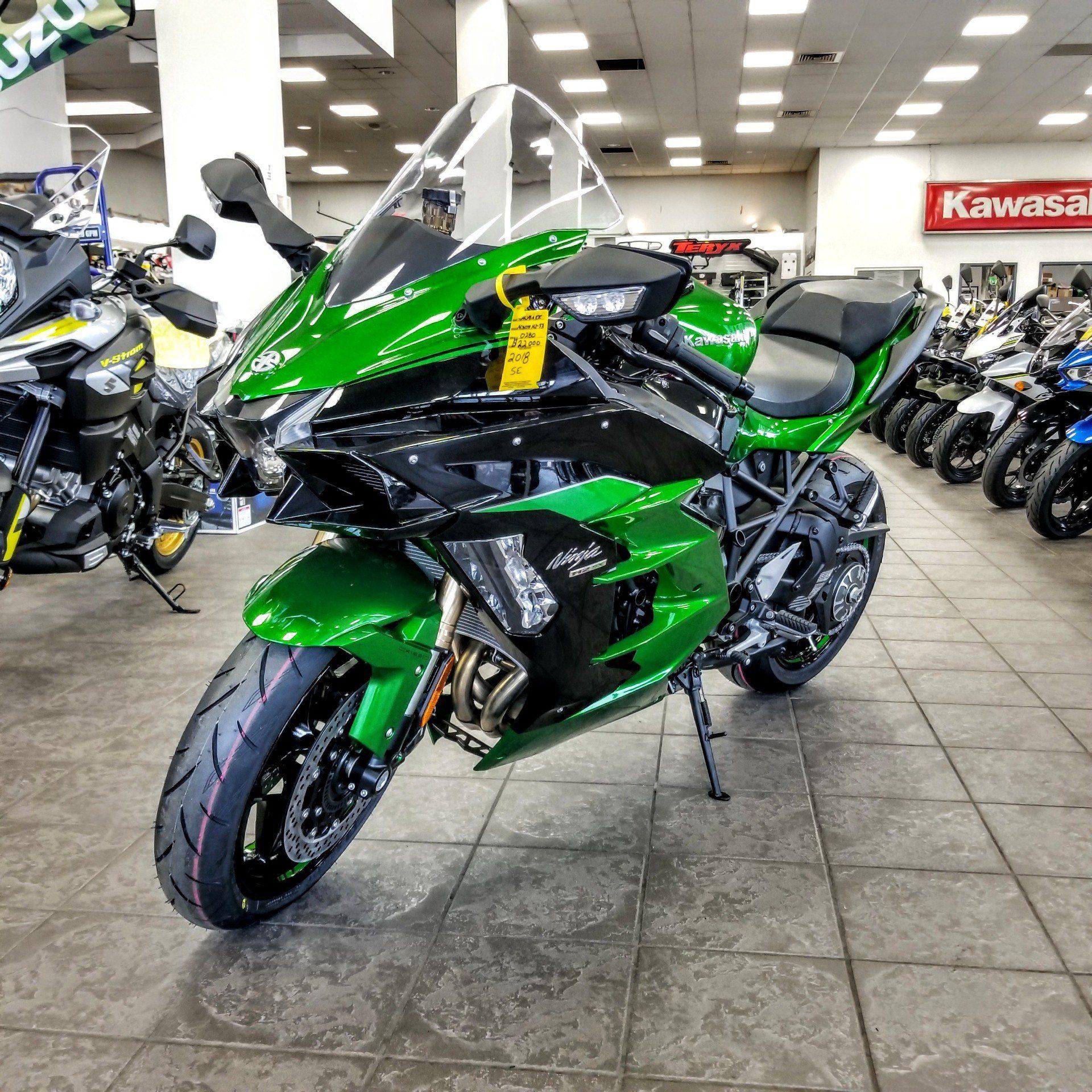 new 2018 kawasaki h2 sx se motorcycles in hickory