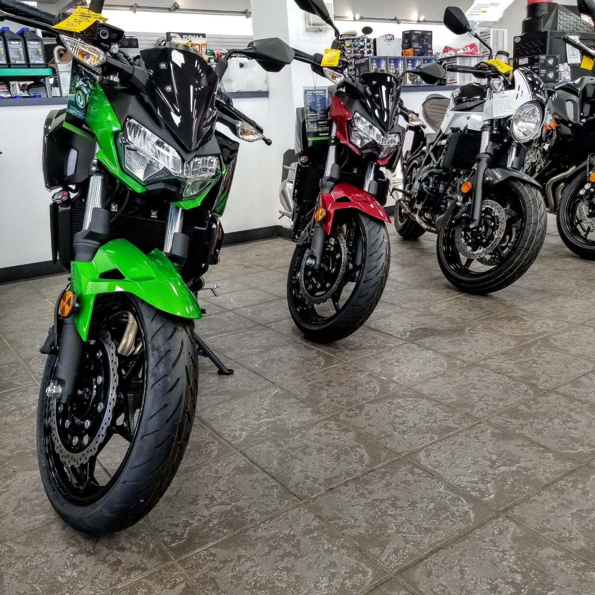 2019 Kawasaki Z400 ABS in Hickory, North Carolina - Photo 8