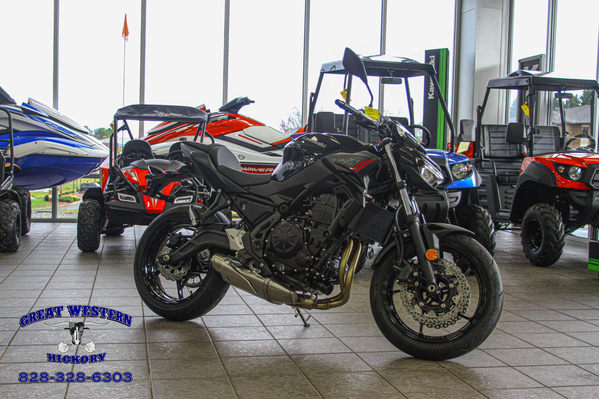 2020 Kawasaki Z650 in Hickory, North Carolina - Photo 1