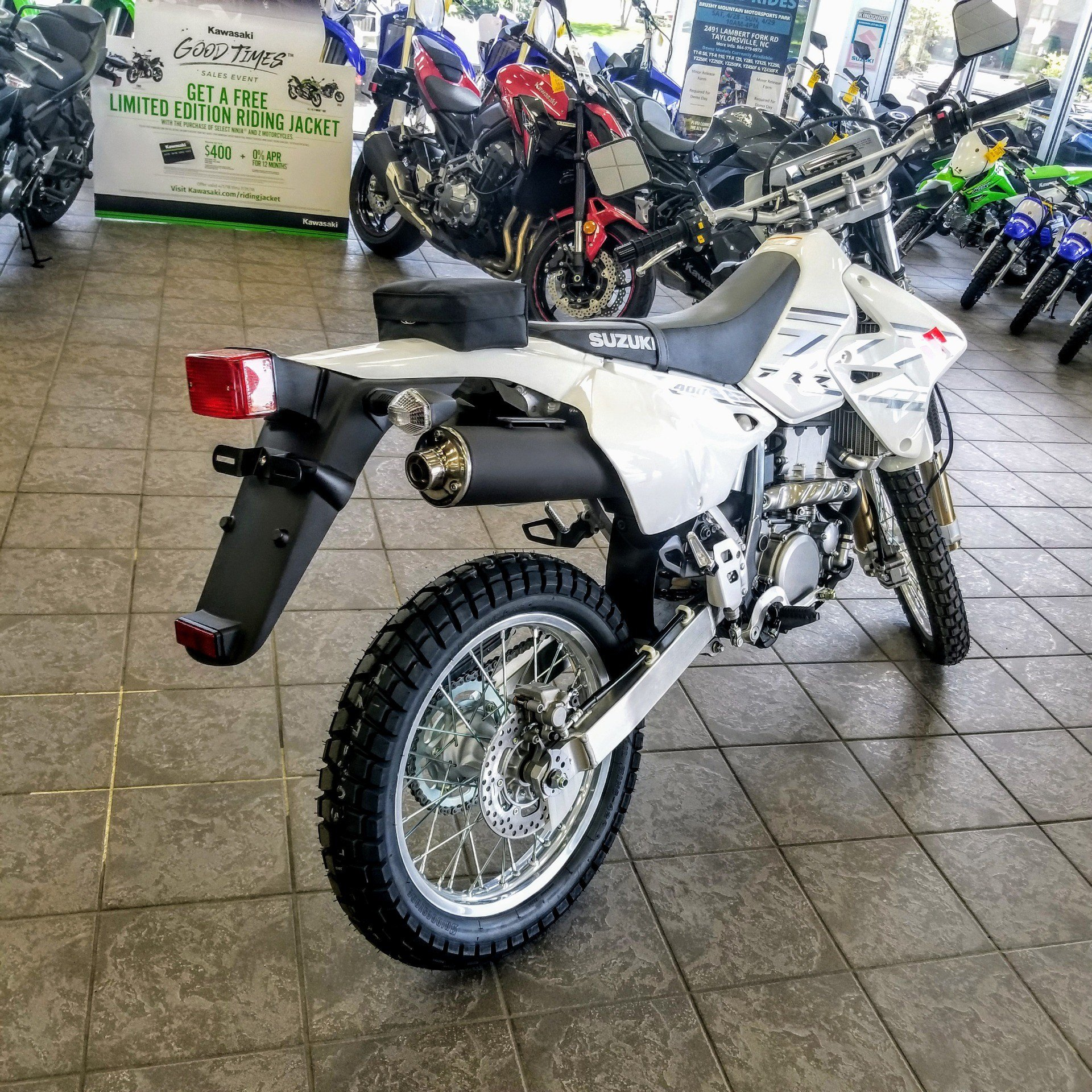 New 2018 Suzuki DR-Z400S Motorcycles in Hickory, NC | Stock Number ...