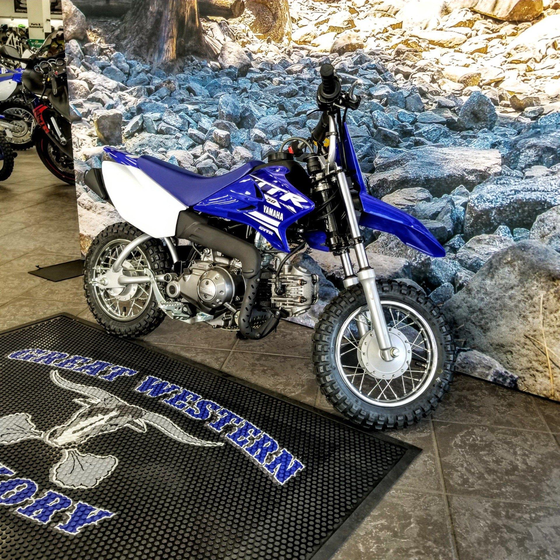 2019 Yamaha TT-R50E 6