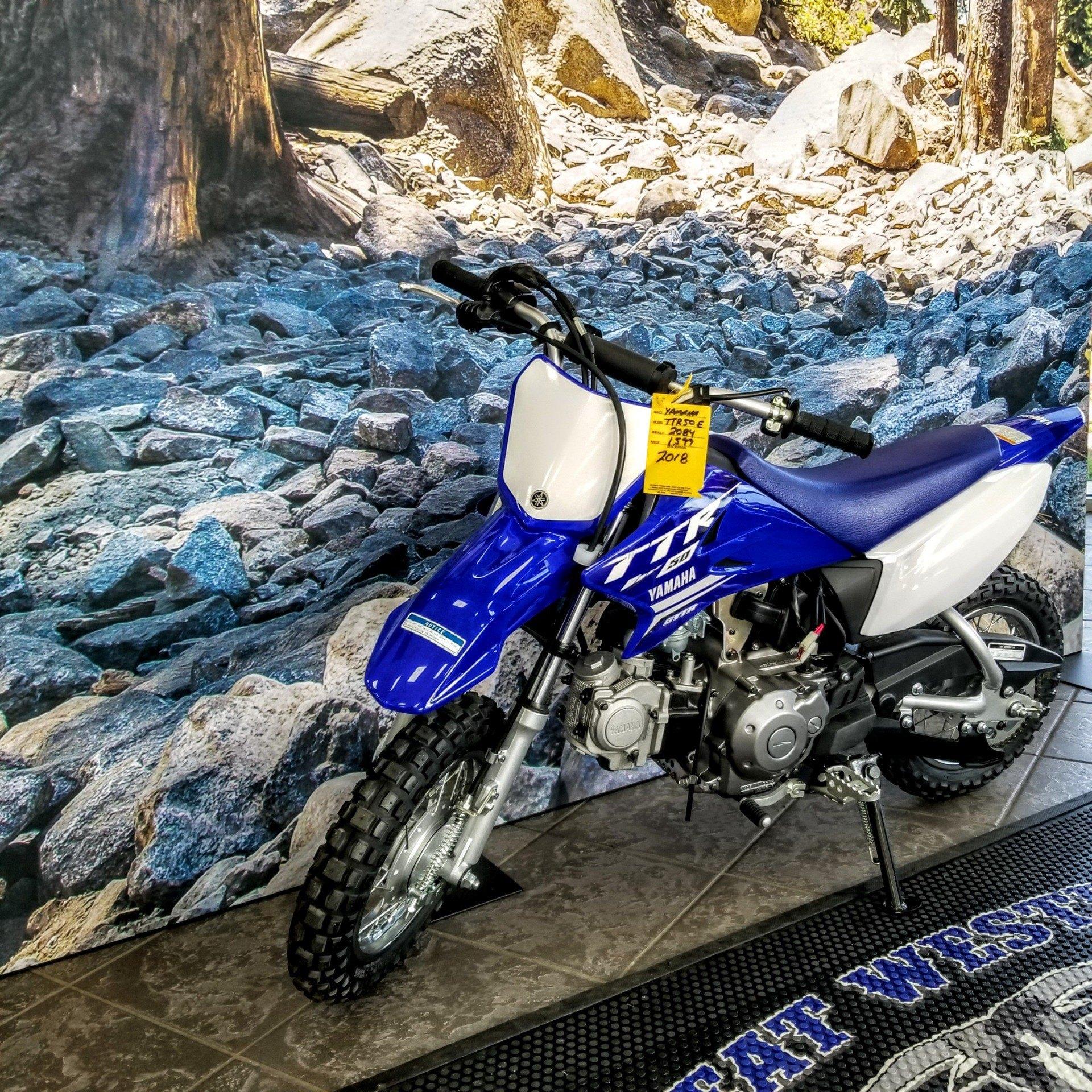 2019 Yamaha TT-R50E 2