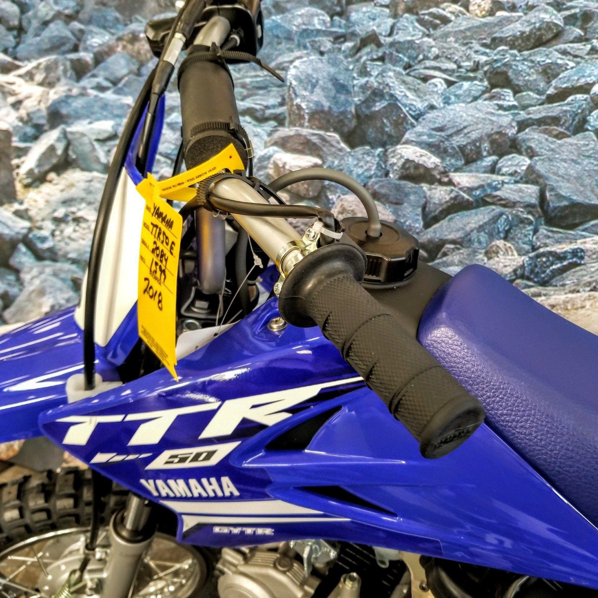 2019 Yamaha TT-R50E 8