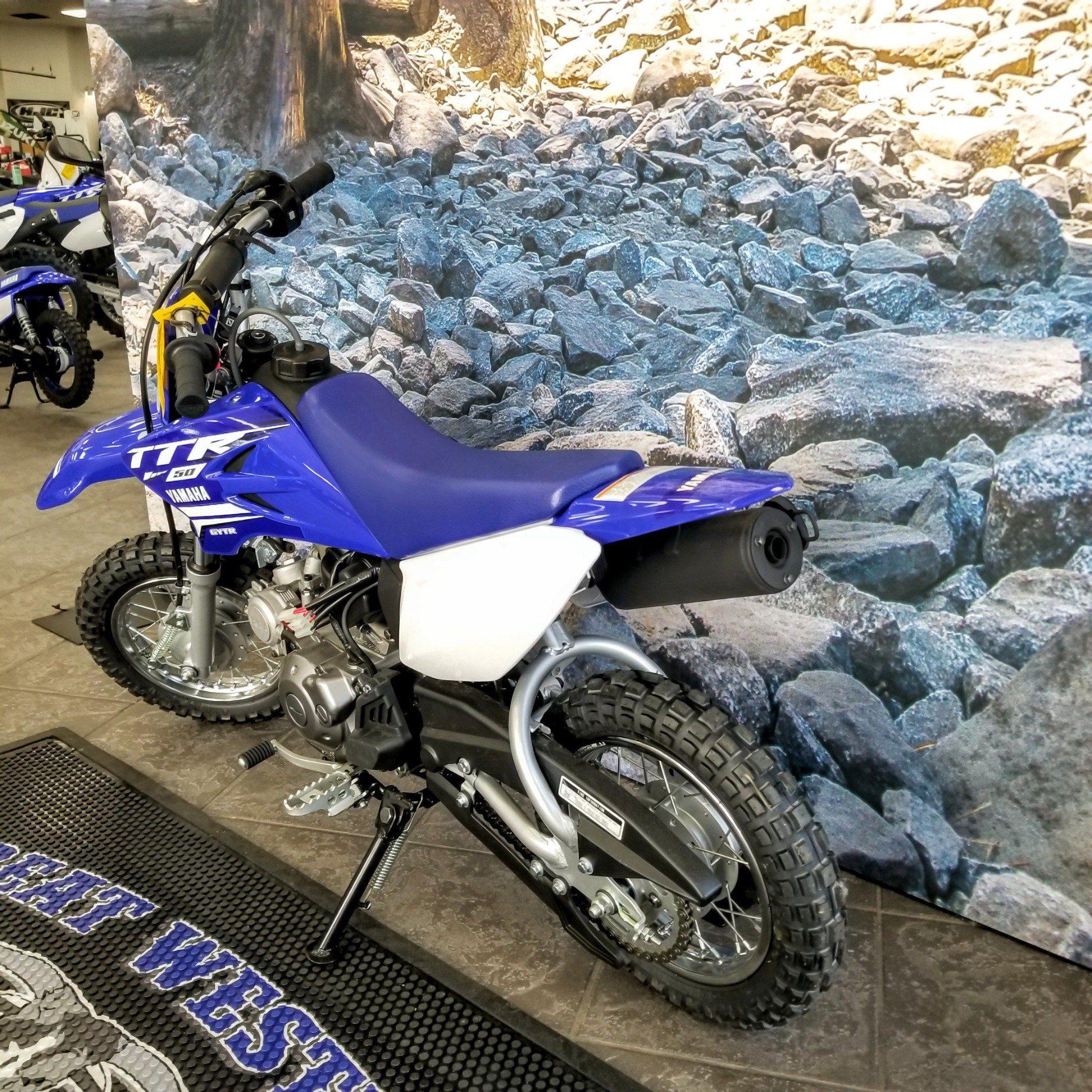 2019 Yamaha TT-R50E 4