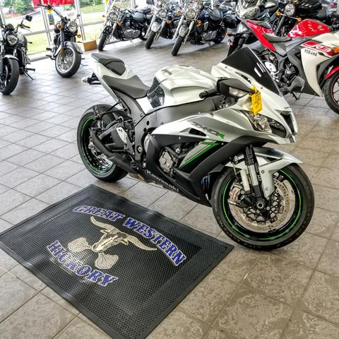 2018 Kawasaki Ninja ZX-10R in Hickory, North Carolina