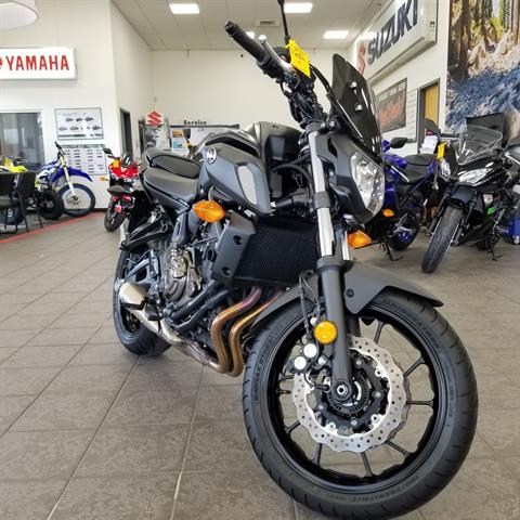 2019 Yamaha MT-07 in Hickory, North Carolina