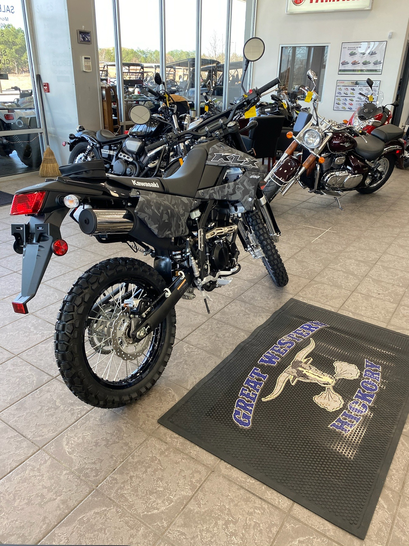 2020 Kawasaki KLX 250 in Hickory, North Carolina - Photo 2