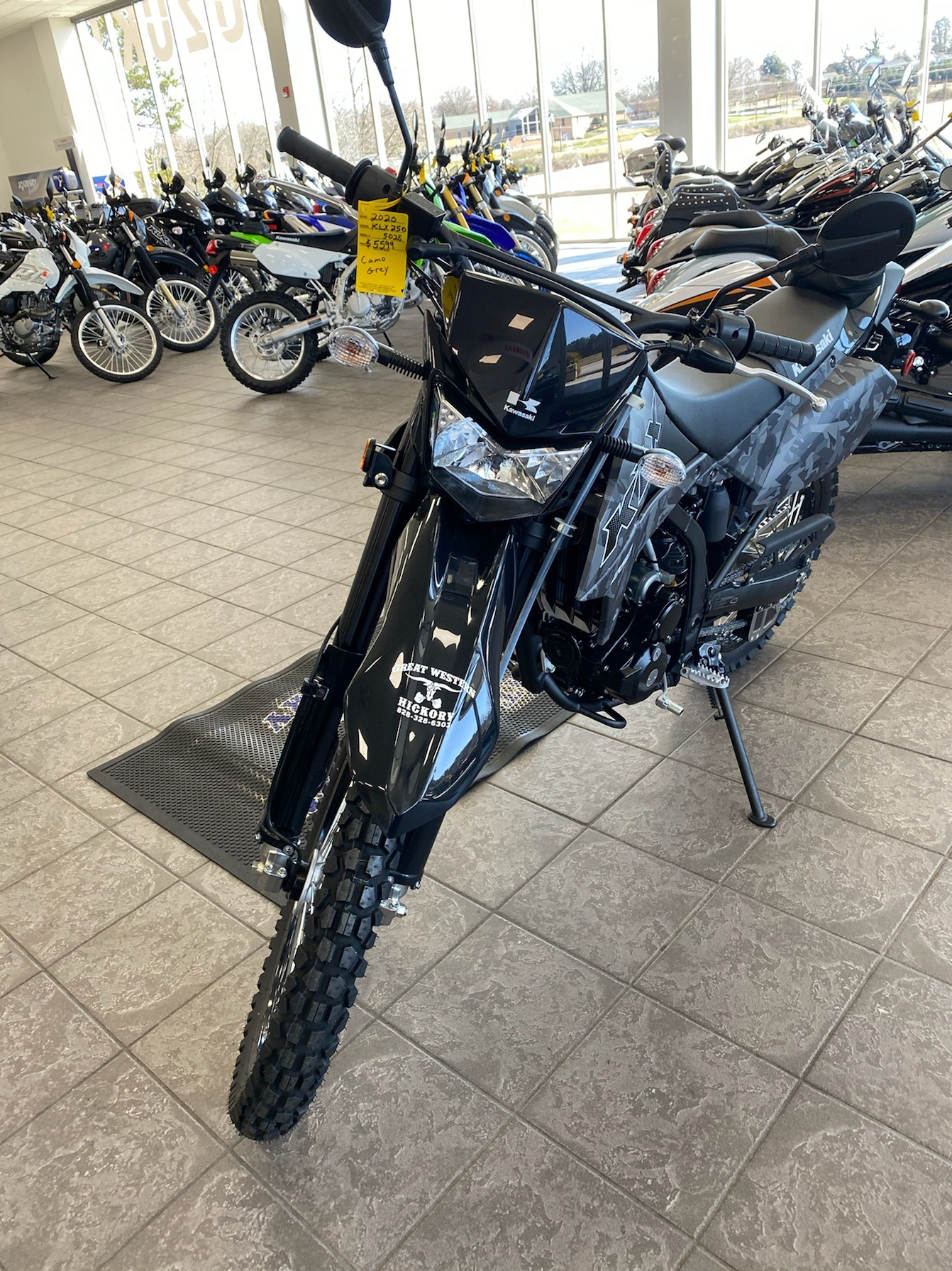 2020 Kawasaki KLX 250 in Hickory, North Carolina - Photo 4