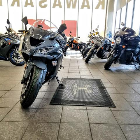 2019 Kawasaki NINJA ZX-6R in Hickory, North Carolina - Photo 3