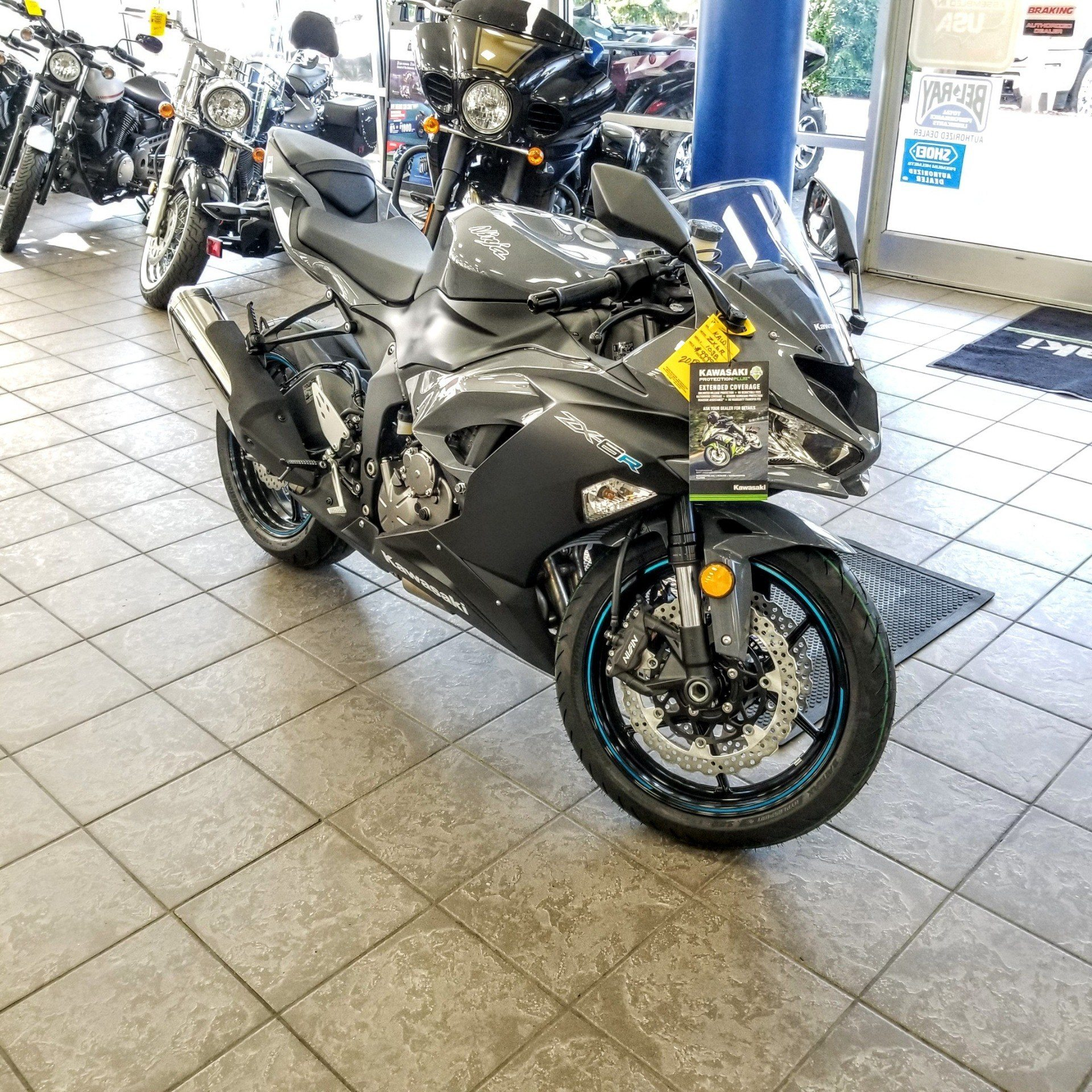 2019 Kawasaki NINJA ZX-6R in Hickory, North Carolina - Photo 6
