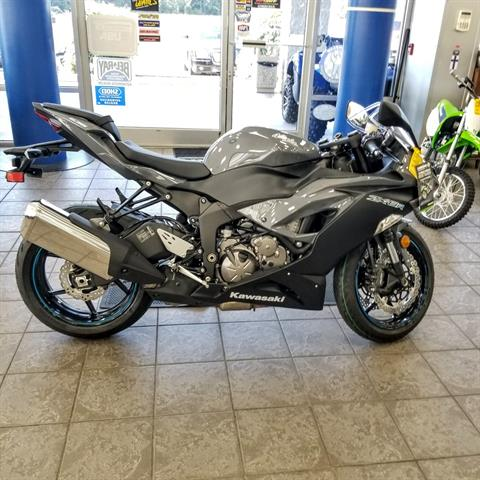2019 Kawasaki NINJA ZX-6R in Hickory, North Carolina - Photo 7