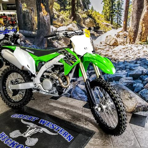 2019 Kawasaki KX 450 in Hickory, North Carolina