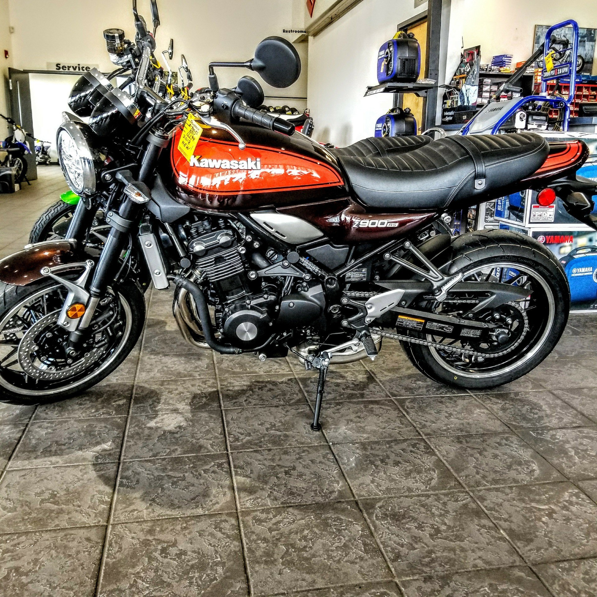 New 2018 kawasaki z900rs motorcycles in hickory nc for Ride now motors in monroe north carolina