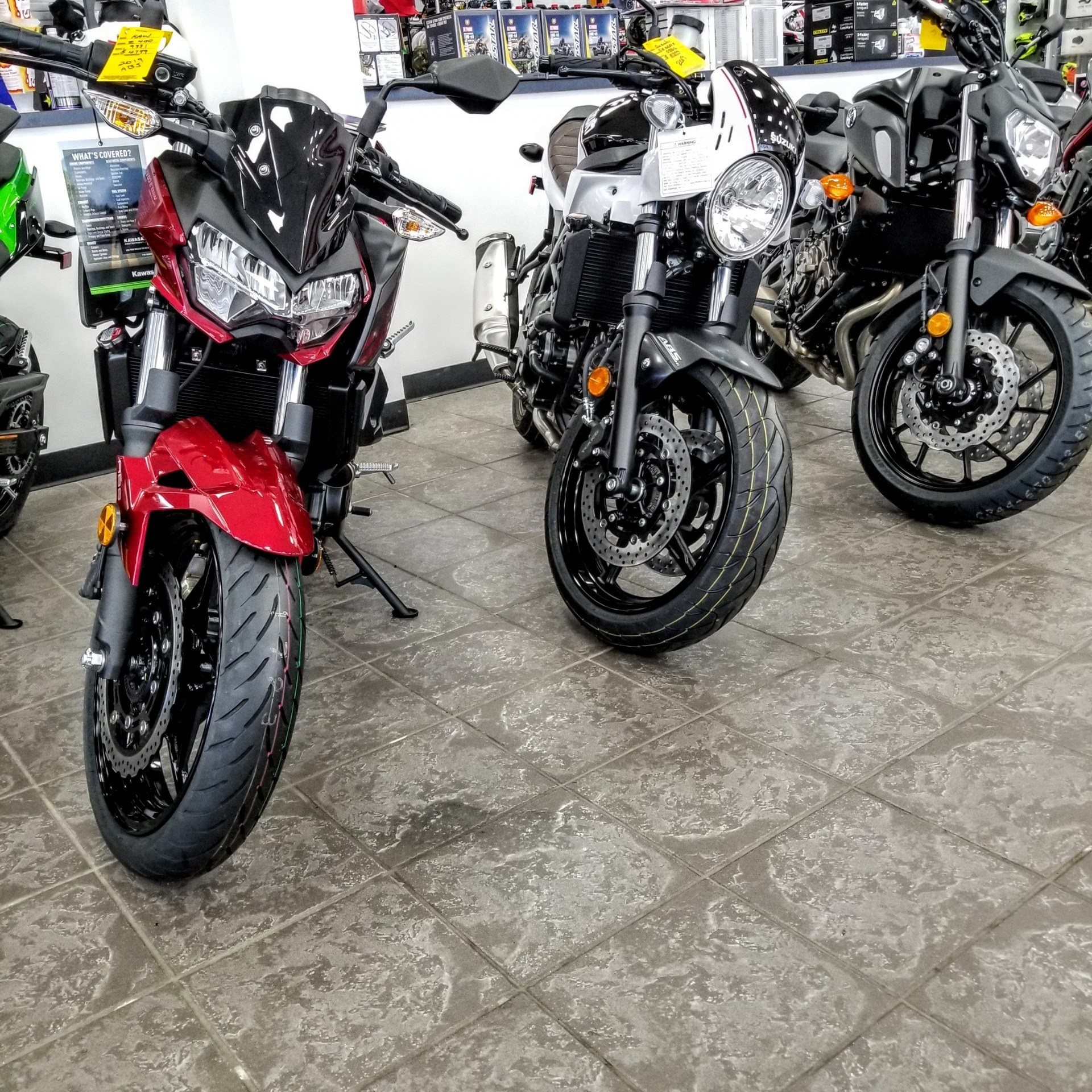 2019 Kawasaki Z400 ABS in Hickory, North Carolina - Photo 7