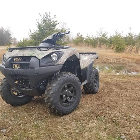 2018 Kawasaki Brute Force 750 4x4i EPS Camo in Hickory, North Carolina