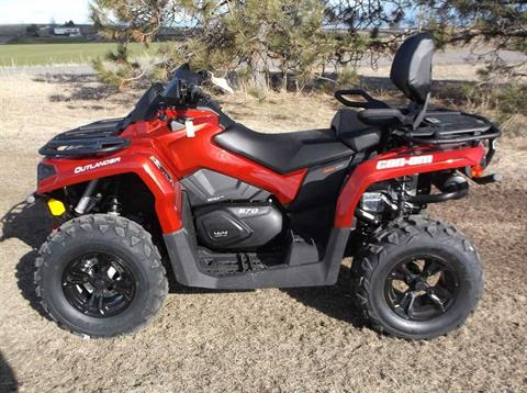 2019 Can-Am Outlander MAX XT 570 in Cottonwood, Idaho