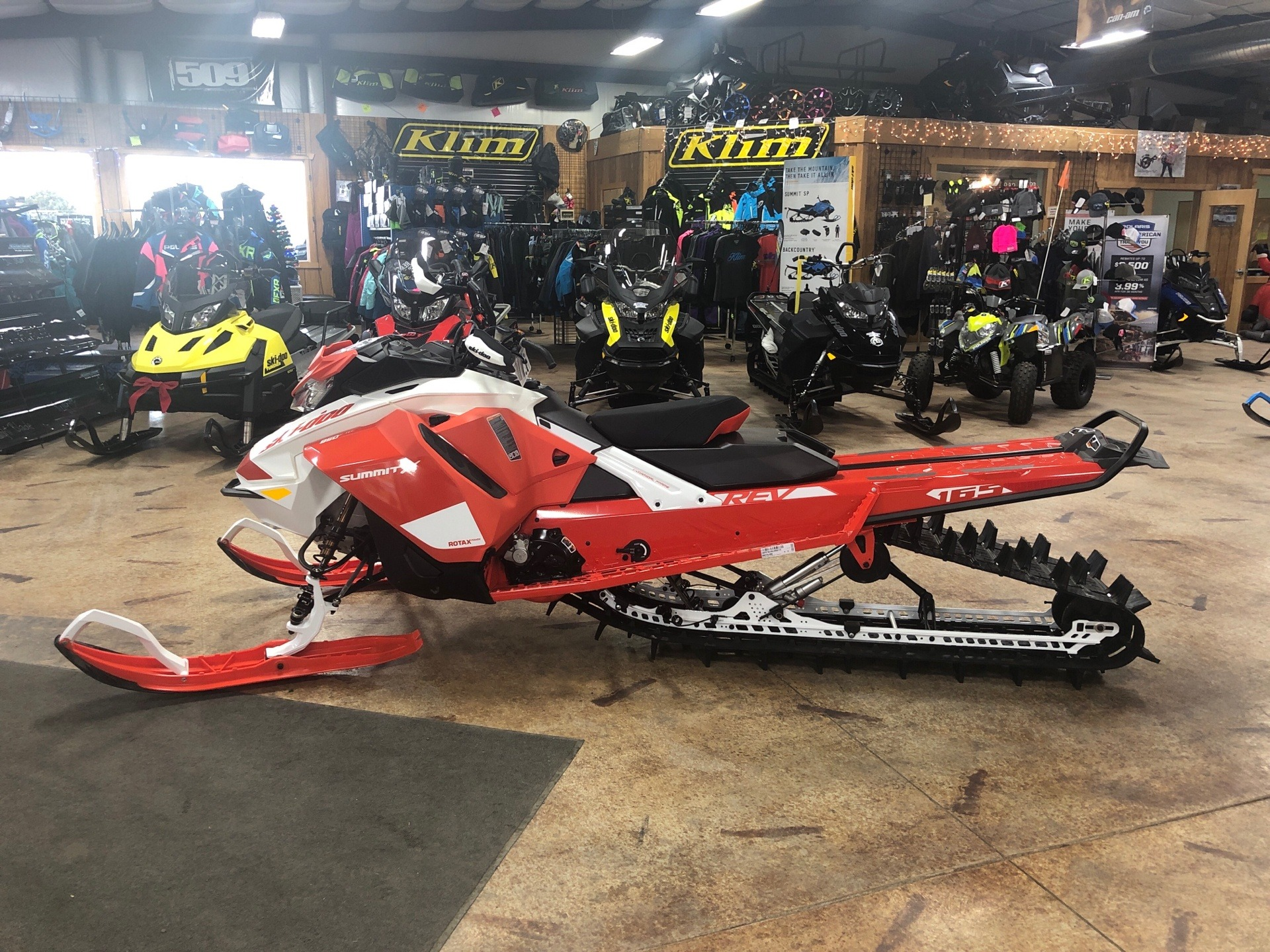 2020 Ski-Doo Summit X Expert 165 850 E-TEC SHOT HA in Cottonwood, Idaho - Photo 1