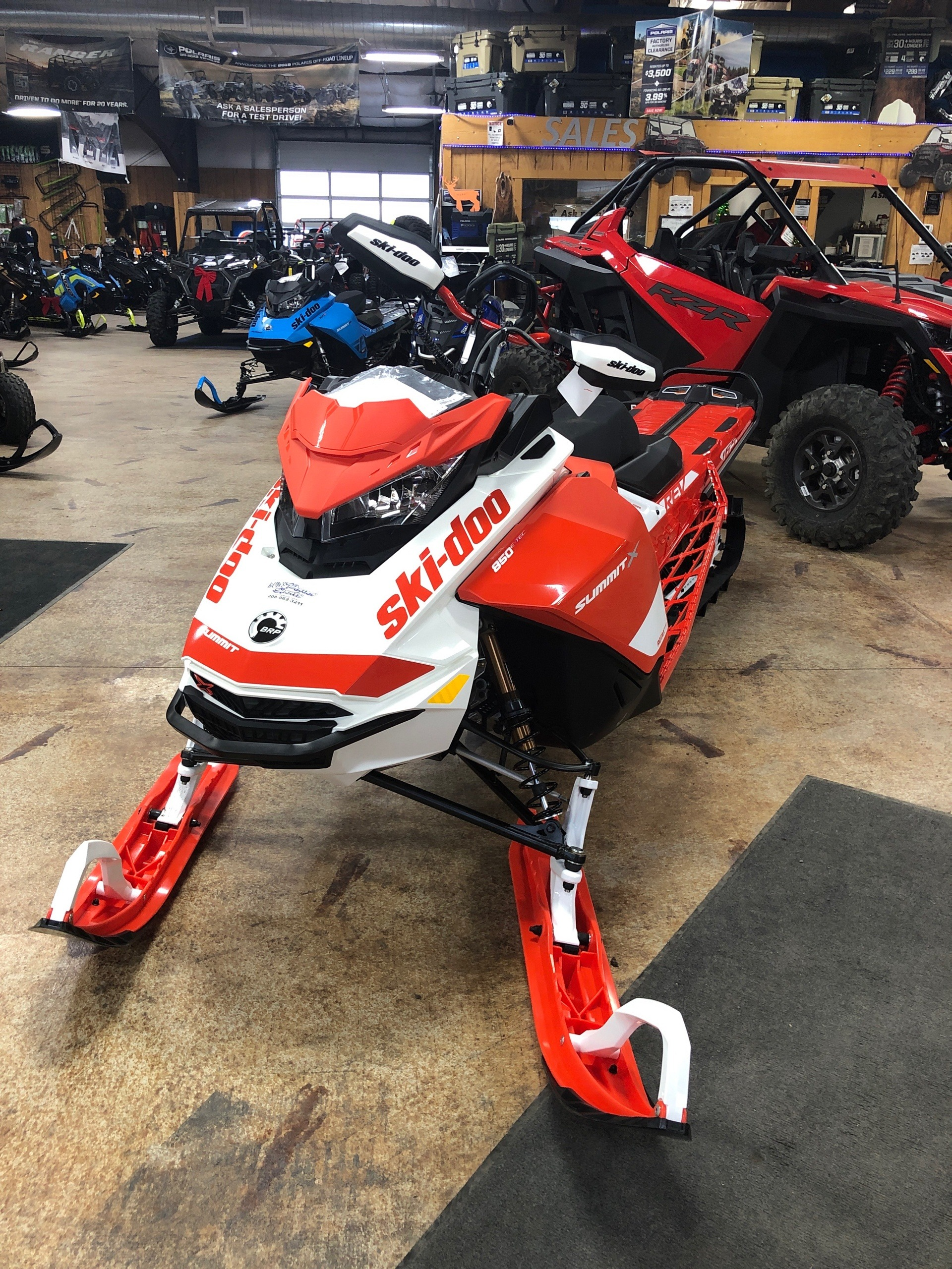 2020 Ski-Doo Summit X Expert 165 850 E-TEC SHOT HA in Cottonwood, Idaho - Photo 2