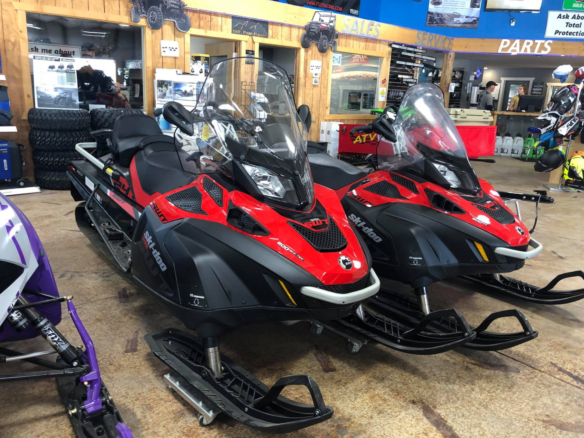 2019 Ski-Doo Skandic SWT 600 H O  E-TEC in Cottonwood, Idaho