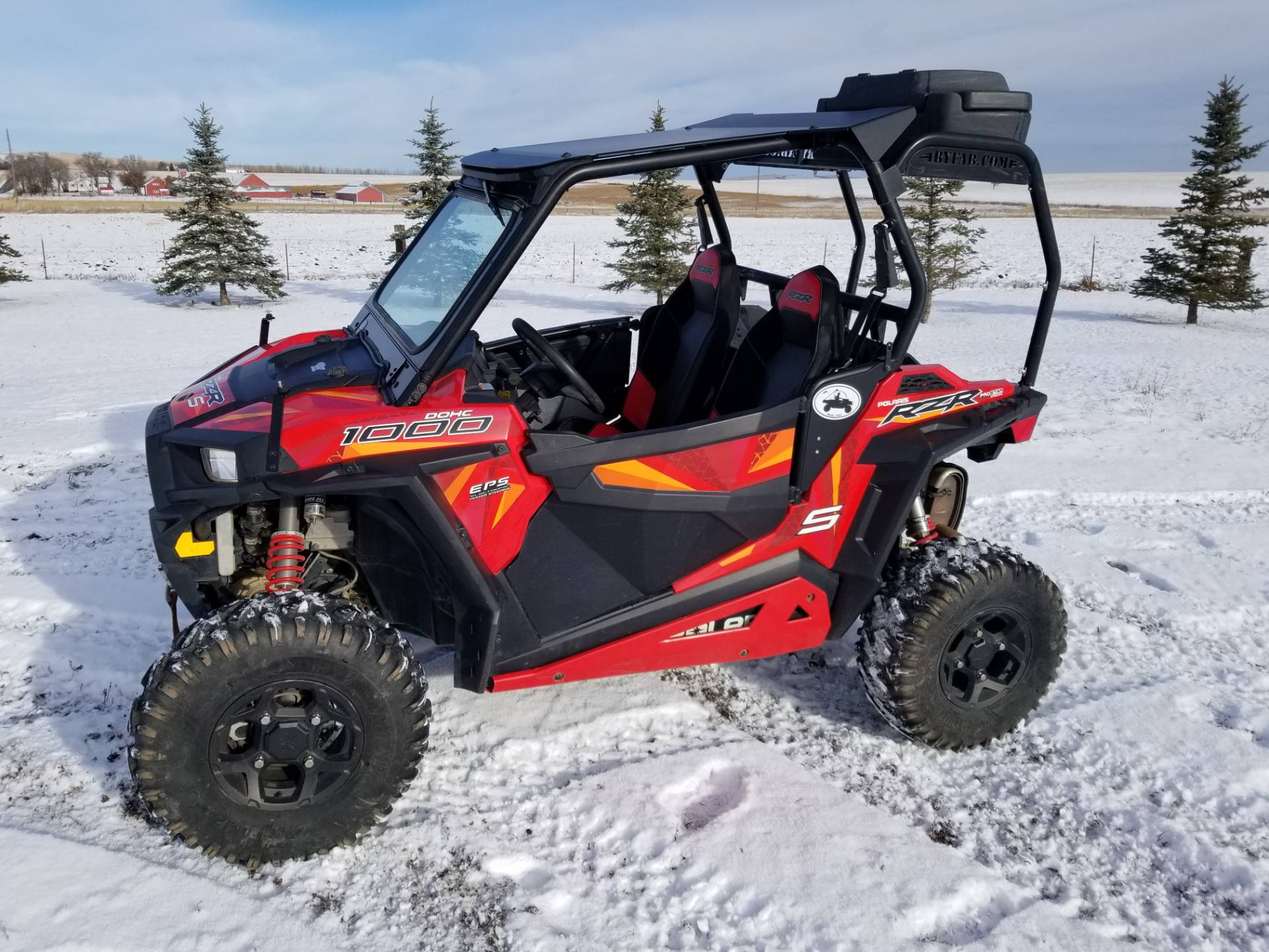 2017 Polaris RZR S 1000 EPS in Cottonwood, Idaho - Photo 3