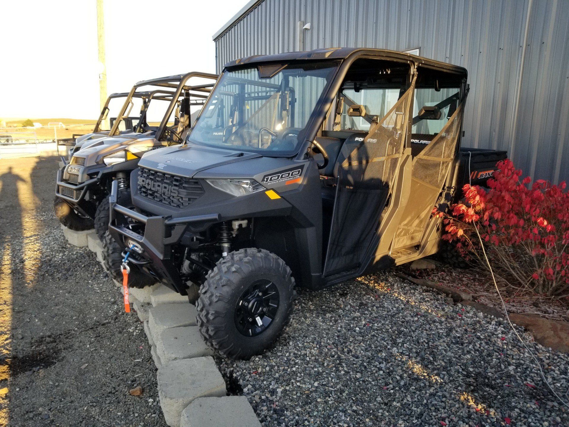 2020 Polaris Ranger Crew 1000 Premium + Winter Prep Package in Cottonwood, Idaho - Photo 1