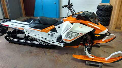 "2017 Ski-Doo Summit X 165 850 E-TEC E.S., PowderMax 3.0"" in Cottonwood, Idaho"