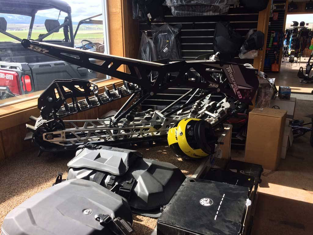 2017 Polaris TIMBERSLED ST120 LE in Cottonwood, Idaho