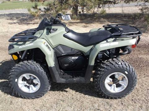 2019 Can-Am Outlander DPS 570 in Cottonwood, Idaho - Photo 1