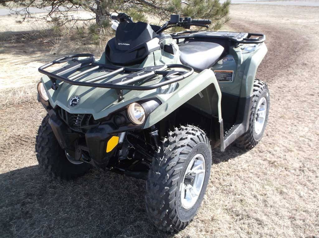 2019 Can-Am Outlander DPS 570 in Cottonwood, Idaho - Photo 2