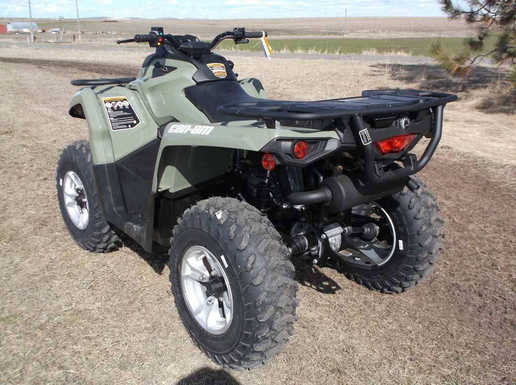 2019 Can-Am Outlander DPS 570 in Cottonwood, Idaho - Photo 3