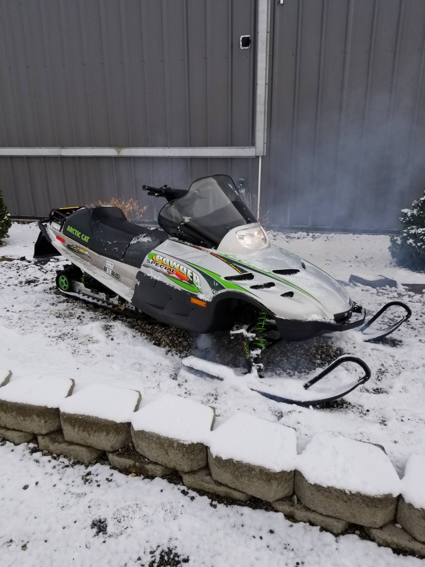 2000 Arctic Cat Powder Special 600 EFI in Cottonwood, Idaho