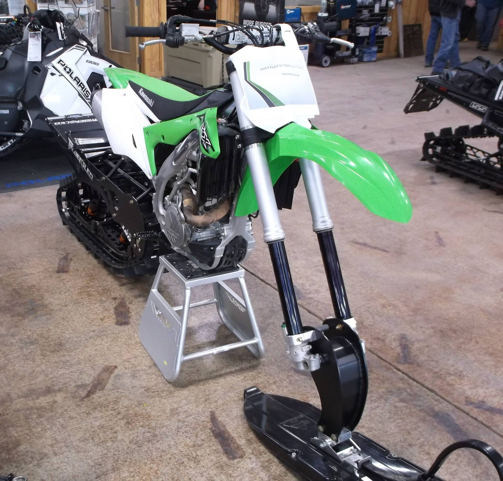 2016 Kawasaki KX450F in Cottonwood, Idaho