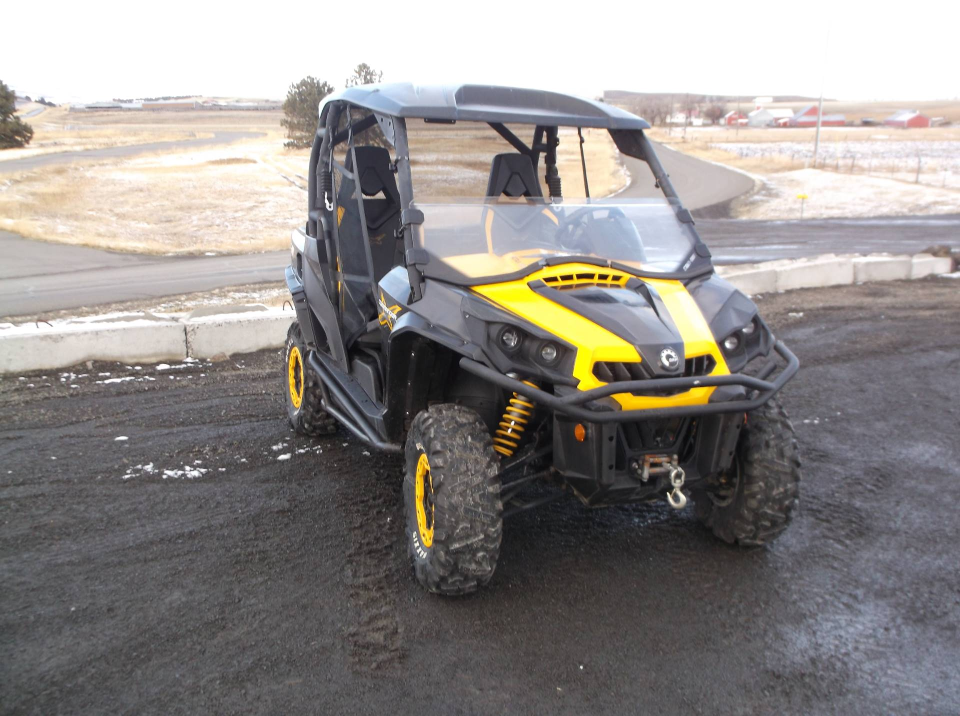 2012 Can-Am Commander 1000 X in Cottonwood, Idaho