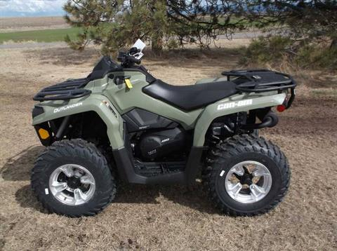 2019 Can-Am Outlander DPS 450 in Cottonwood, Idaho