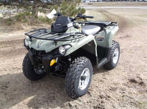 2019 Can-Am Outlander DPS 450 in Cottonwood, Idaho - Photo 2