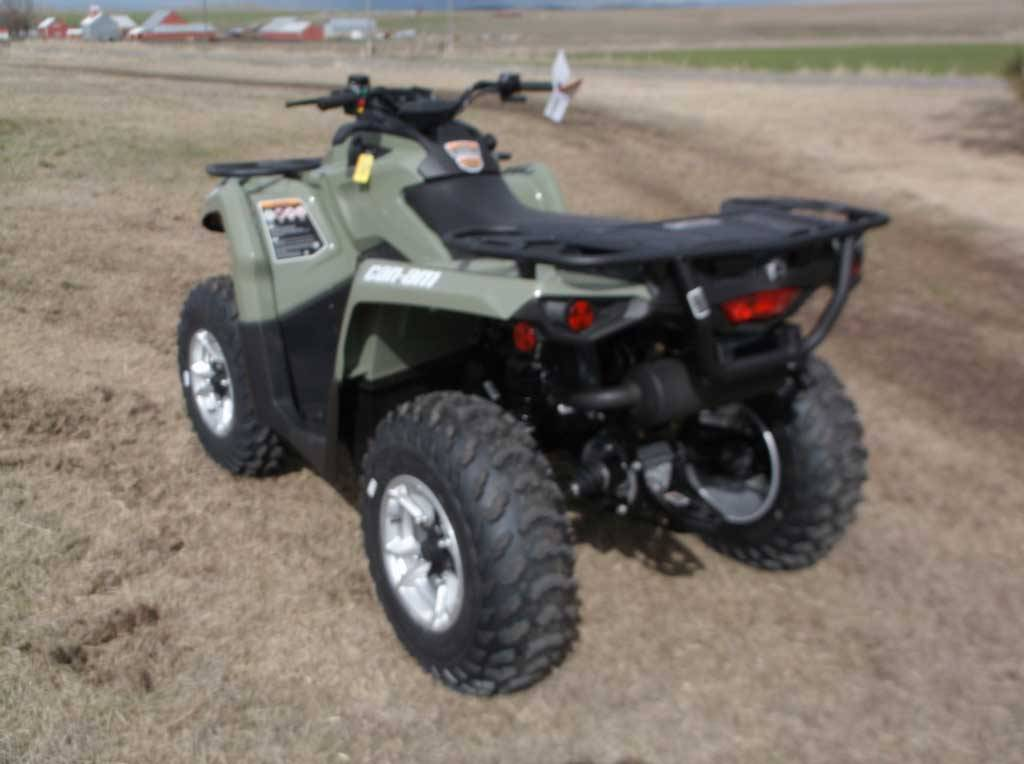 2019 Can-Am Outlander DPS 450 in Cottonwood, Idaho - Photo 3