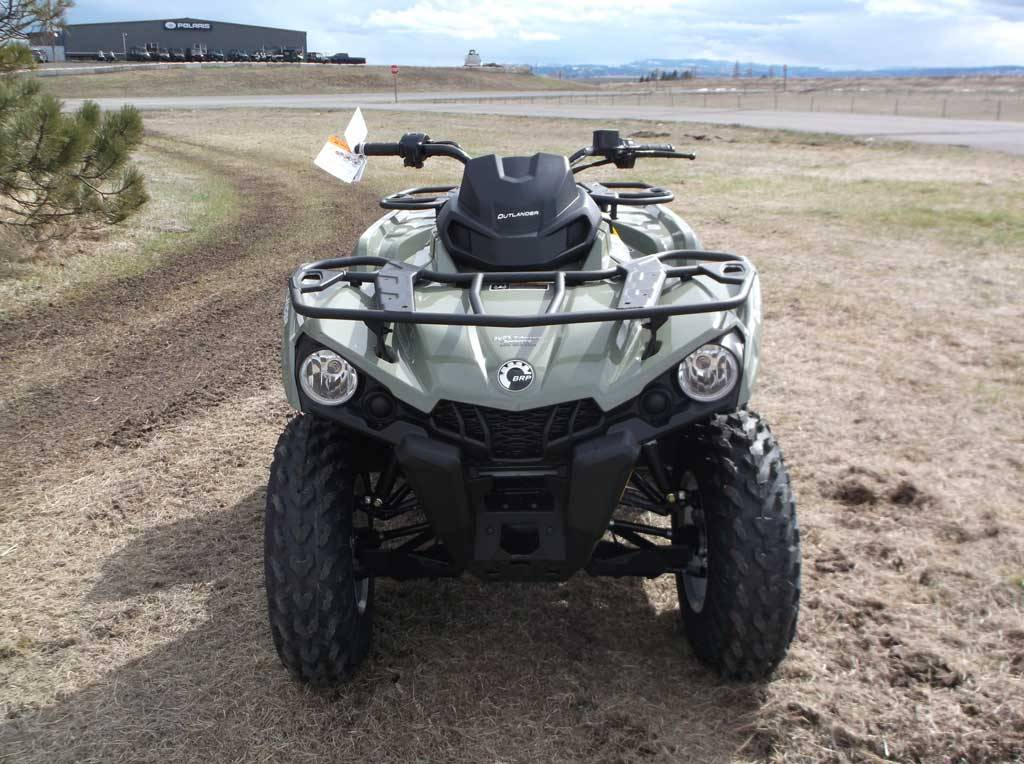 2019 Can-Am Outlander DPS 450 in Cottonwood, Idaho - Photo 4