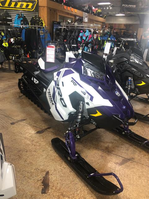 2021 Polaris 600 PRO RMK 155 Factory Choice in Cottonwood, Idaho - Photo 3