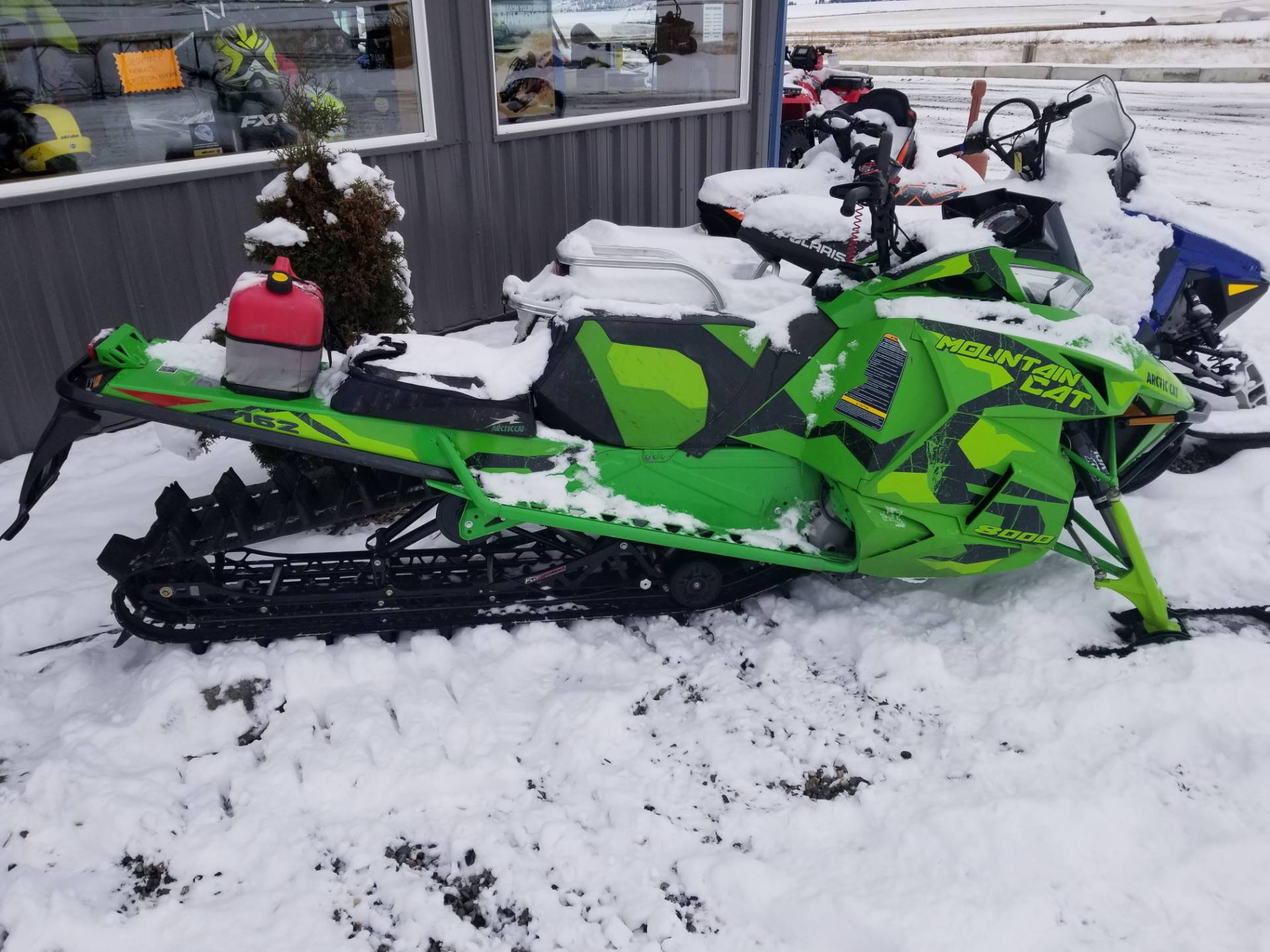 2017 Arctic Cat M 8000 Mountain Cat 162 in Cottonwood, Idaho - Photo 2