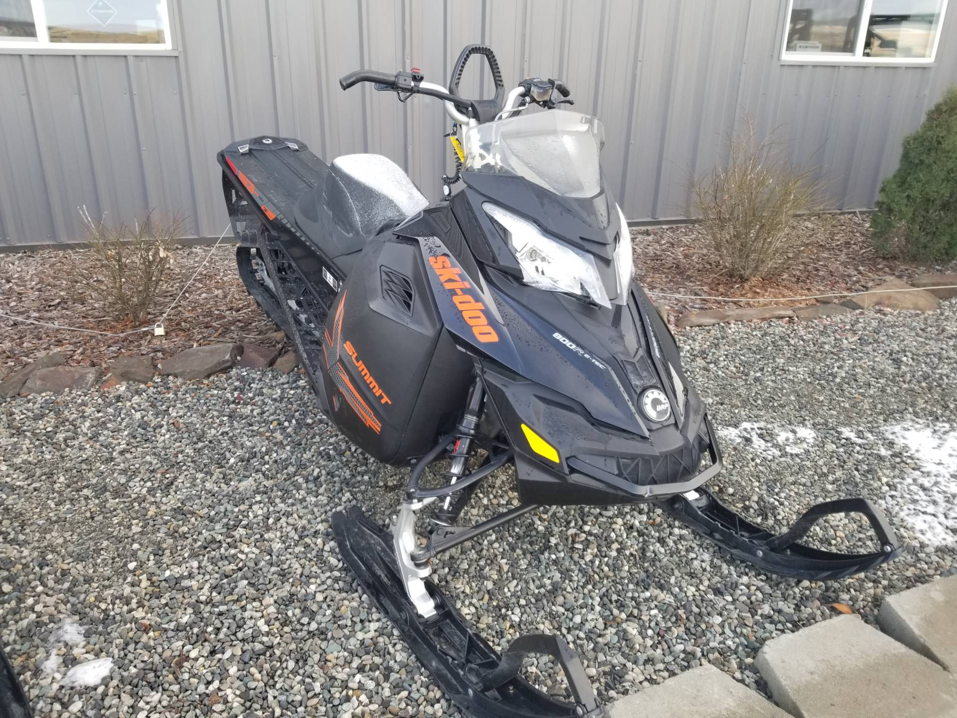 "2015 Ski-Doo Summit® X® 163 800R E-TEC®, PowderMax 3.0"" in Cottonwood, Idaho"