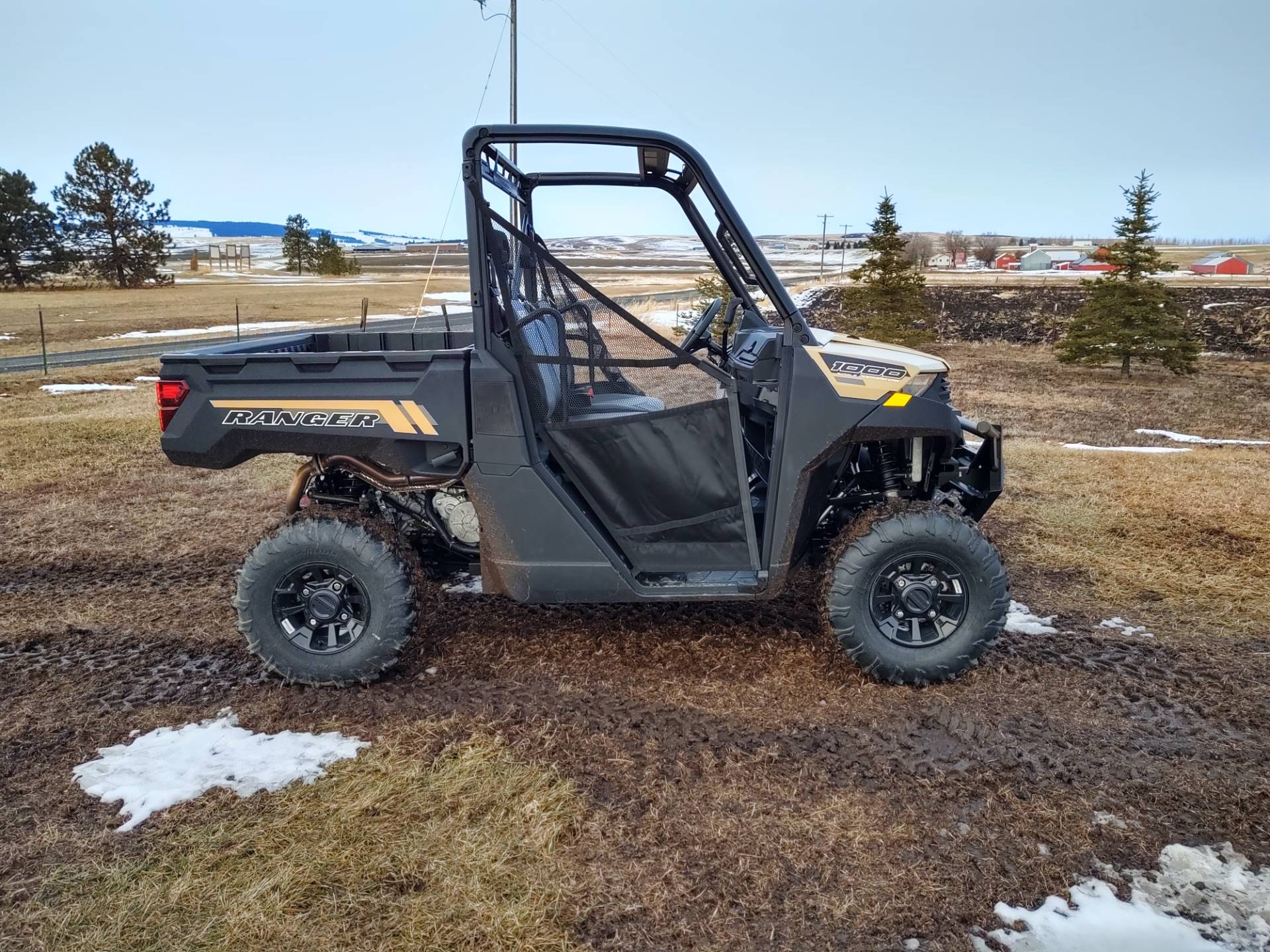 2020 Polaris Ranger 1000 Premium + Winter Prep Package in Cottonwood, Idaho - Photo 2